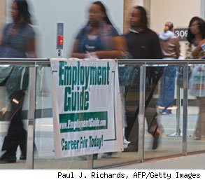 unemployment dropping
