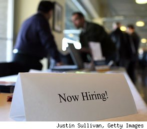 most job openings
