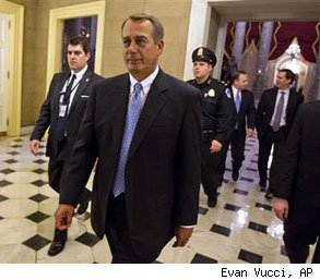 payroll tax cut John Boehner