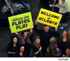 ad agency flash mob