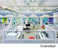 Google best places to work 2012