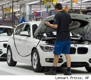BMW Chrysler manufacturers new jobs