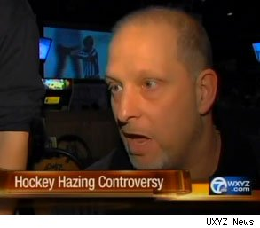 Randy Montrose fired hazing hockey players