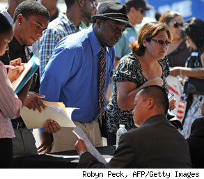 unemployment report drop new jobs