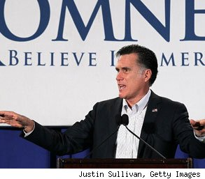 Mitt Romney unemployment comment