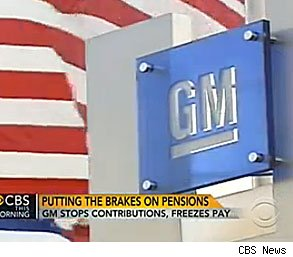 Gm Plans To Freeze Salaried Workers 39 Pensions Aol Finance