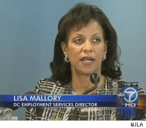 Lisa Mallory Washington DC employees unemployment