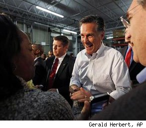 Mitt Romney working class votes