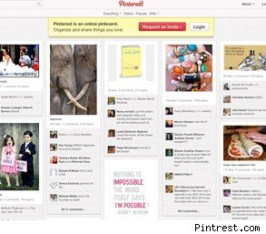 Pintrest social media job search