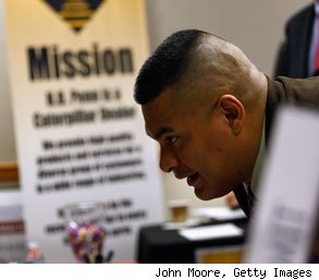 job search tips veterans military