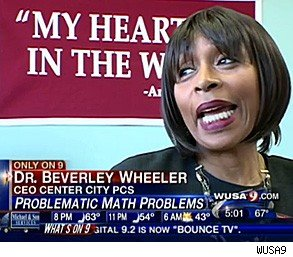 teacher fired violent racist math problems