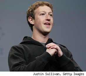 Mark Zuckerberg young CEO