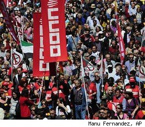 world workers May Day protests