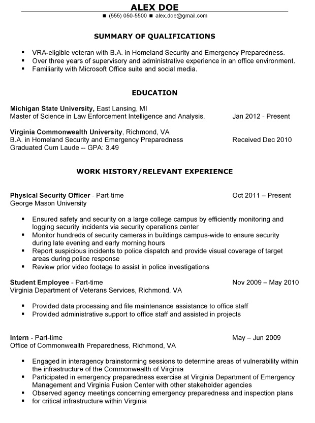 Professional Summary Resume Examples profile summary resume professional summary example for resume objective summary for resume examples objective summary for Veteran Resume Makeover Get A Job Recruiters Attention