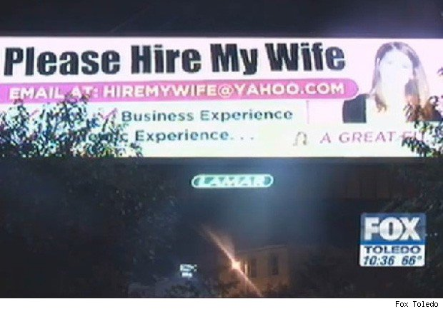 billboard hire wife