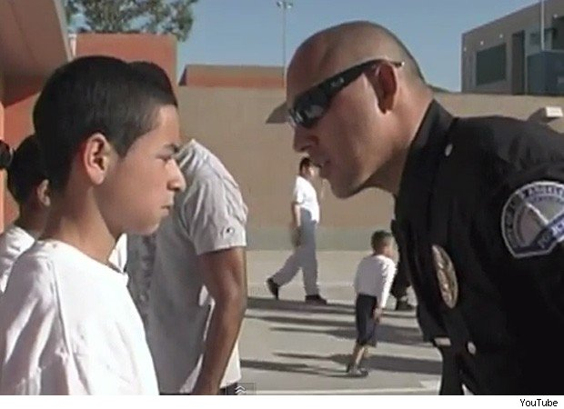 Los Angeles police boot camp bully