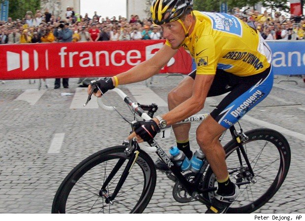 Lance Armstrong career choice