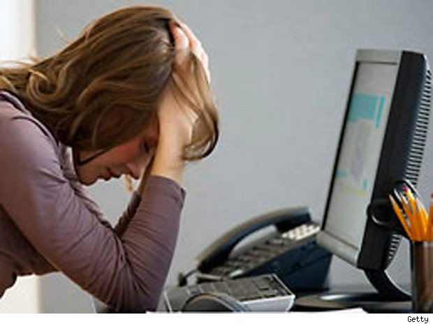 least productive most distracted workers middle age women