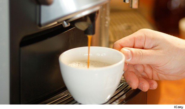 which jobs drink coffee