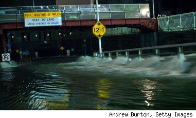 New York City flooding Hurricane Sandy