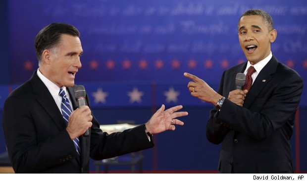 Obama Romney outsourcing views