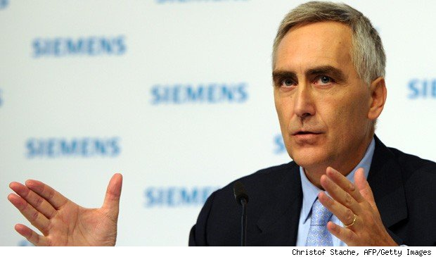 Peter Loescher Siemens layoffs job cuts