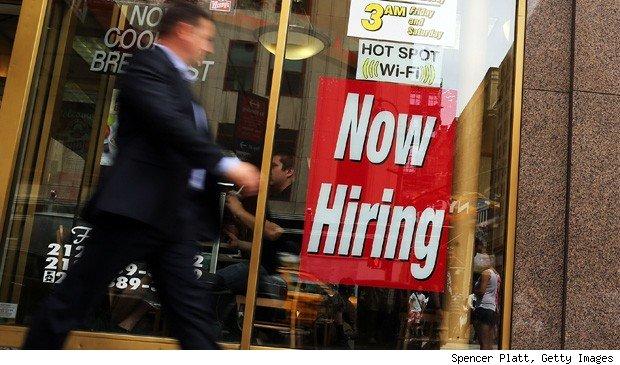 Unemployment rates fall.