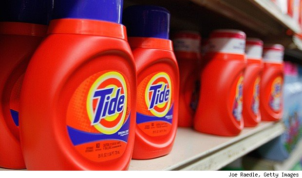 P&G job cuts Tide