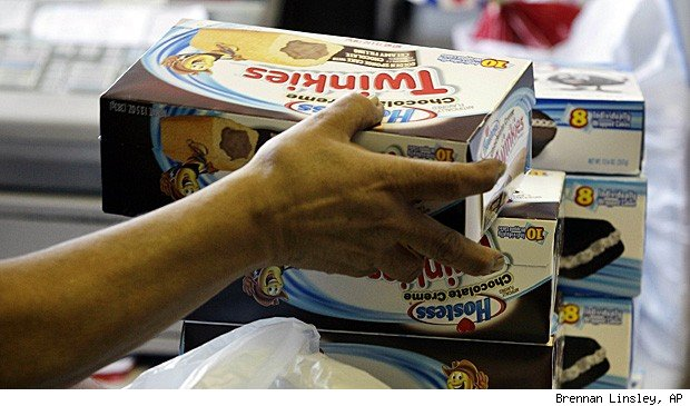 Hostess nears bankruptcy.
