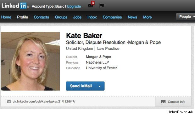 Kate Baker fired