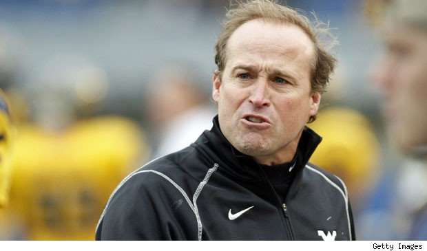 College football coach Dana Holgorsen of West Virginia University