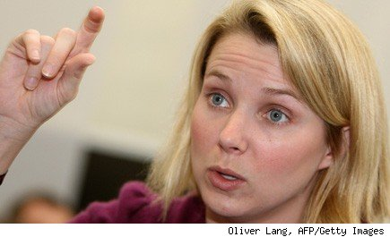 Marissa Mayer Yahoo CEO, hiring process