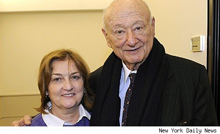 Mary Garrigan Ed Koch