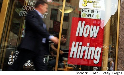 unemployment rate 7.7 percent new jobs