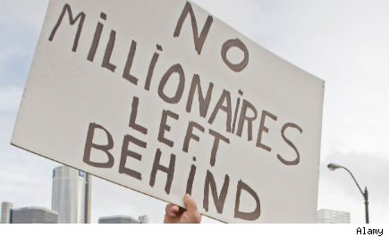 Unemployment benefits for millionaires
