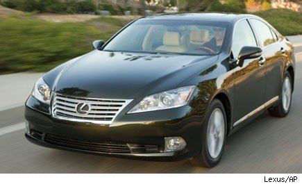 Toyota plans to build the Lexus ES 350 in Kentucky.