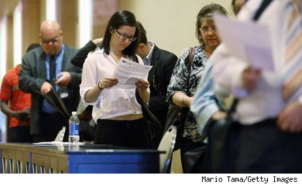 job seekers: unemployment falls