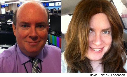 Don Ennis, left, Dawn Ennis, right