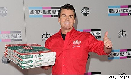 John Schnatter, Papa John's chairman and CEO