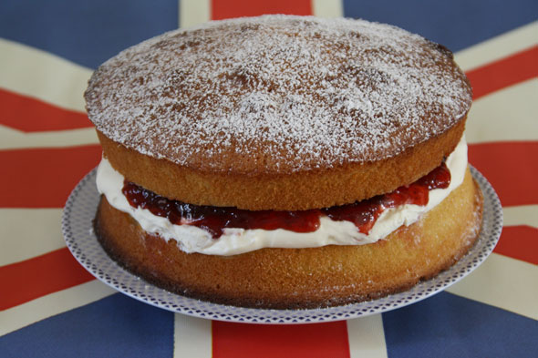 Cake and eat it: Royal Victoria sponge cake