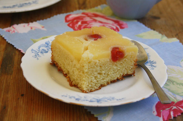 Cake and Eat It: Upside-down pineapple cake