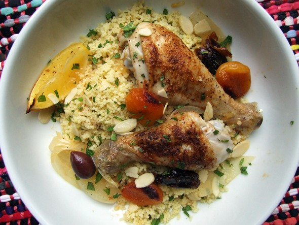 Moroccan baked chicken recipe