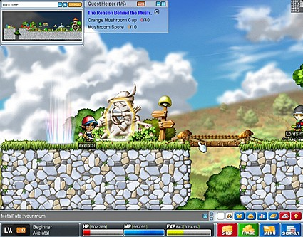 First Impressions: Maple Story