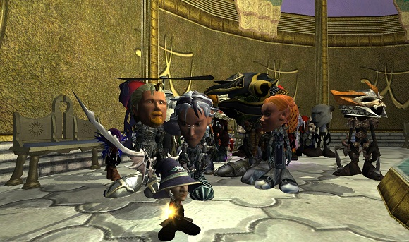 EQII bobble heads