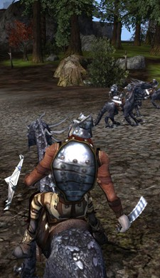Darkfall mounted combat