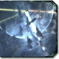 EVE starbase warfare image