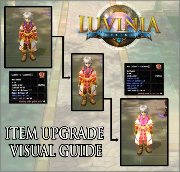 Luvinia item upgrade