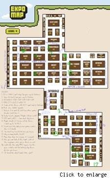 PAX Prime: MMO Map