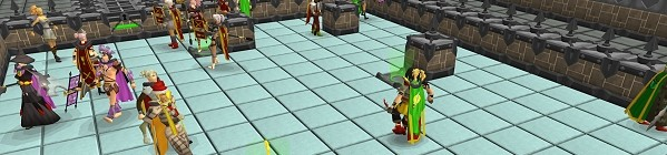 Player-made ice rink image