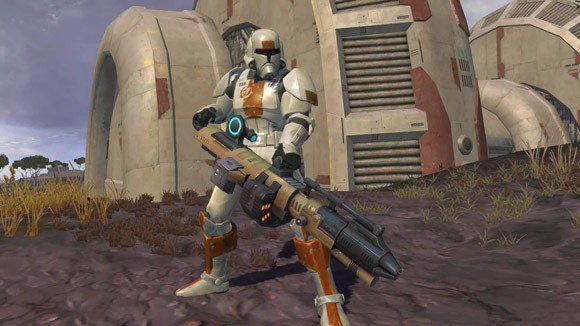 Star Wars The Old Republic - Trooper on Ord Mantell